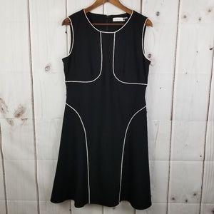 NWT Calvin Klein Black Dress Size 12